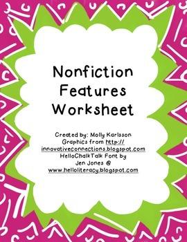 Nonfiction Features