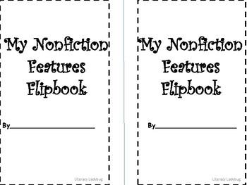 Nonfiction Features Flipbook