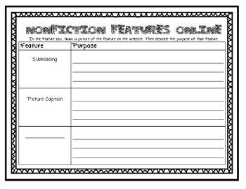 Nonfiction Features Online