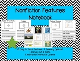 Nonfiction Features Student Interactive Reading Journal
