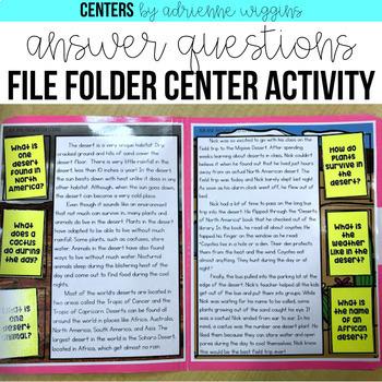 Nonfiction File Folder Centers BUNDLE