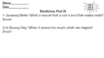 Nonfiction-Find it