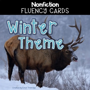 Nonfiction Fluency Practice: Winter Theme Fact Cards