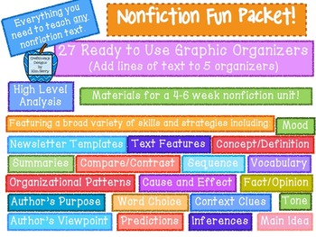 Nonfiction Fun Packet!
