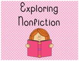Nonfiction Genre Bulletin Board Signs
