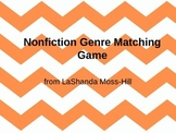 Nonfiction Genre Matching Game