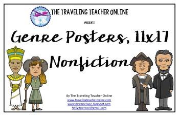 Nonfiction Genre Posters, 11x17