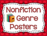 Nonfiction Genre Posters: Biography, Autobiography, Informational Text, and More