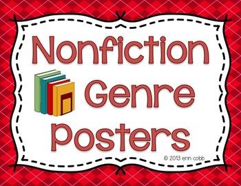 Nonfiction Genre Posters: Biography, Autobiography, Inform