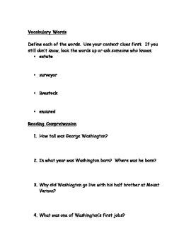Nonfiction: George Washington