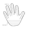 Nonfiction Graphic Organizer - Hand
