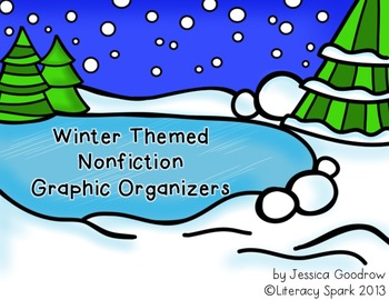 Nonfiction Graphic Organizers {Winter Themed}