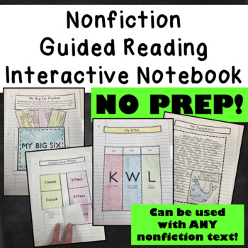 Nonfiction Guided Reading Interactive Notebook