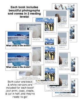 Nonfiction Beginning Readers Habitat Bundle
