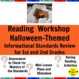 Nonfiction Halloween Reading Workshop Mini Lessons for 1st