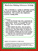 Nonfiction Holiday Themed Inference Activity