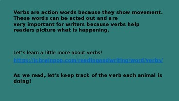 Nonfiction Immersion Lesson 4-Move! Writing Fundamentals Compatible
