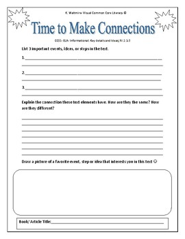 Nonfiction Independent Reading Activities  Above level 1st- On-Level 2nd/3rd