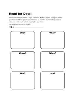 Nonfiction Independent Reading Packet