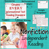 Nonfiction Independent Reading Responses