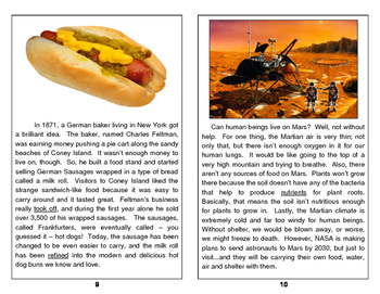 Nonfiction Inference Passage Cards