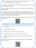 Nonfiction Inference QR Task Cards