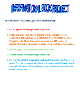 Nonfiction Informational Book Project