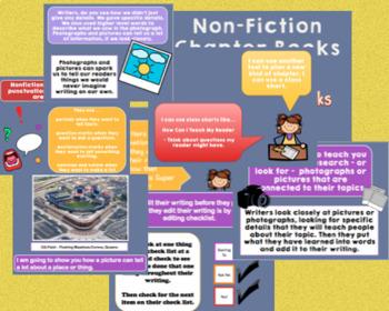 Nonfiction Informational Books (Grade 1) **Entire Unit**