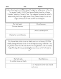 Nonfiction, Informational Inference Passages Printable! Se