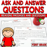 Ask and Answer Questions Informational Passages and Assessment CCSS RI1.1