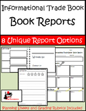 Nonfiction / Informational Trade Book - Book Reports Packa