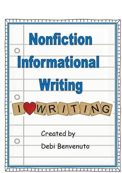 Nonfiction Informational Writing