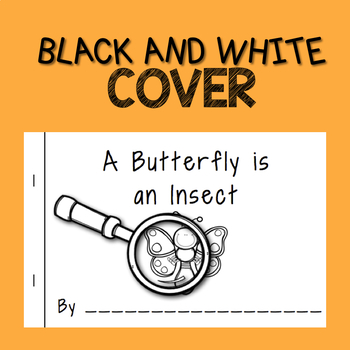 Nonfiction Insect Mini-Book  A Butterfly Is an Insect