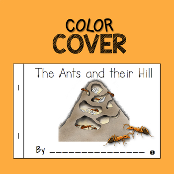 Nonfiction Insect Mini-Book Ants and Their Hill