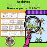 Nonfiction Insect Mini-Books  Grasshopper or Cricket?