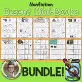 Nonfiction Insect Mini-Books  BUNDLE! Grades 1-3