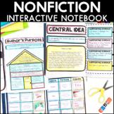 Reading Interactive Notebook - Nonfiction Bundle | Distanc