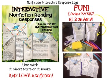 Nonfiction Interactive Reading Responses