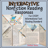 NONFICTION INTERACTIVE READING RESPONSES FOR MIDDLE SCHOOL ENGLISH