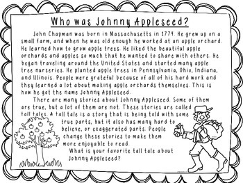 Nonfiction-Johnny Appleseed