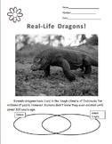 Nonfiction Komodo Dragon Differentiated Articles w/Common