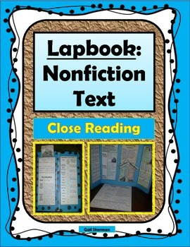 Lapbook Project: Nonfiction Text