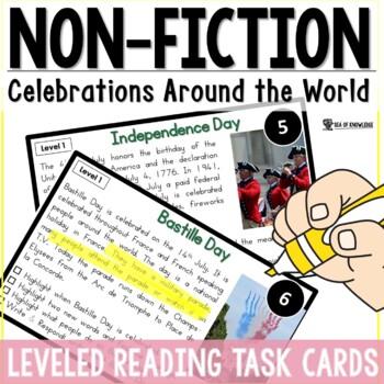 Nonfiction Leveled Reading - Celebrations Around the World