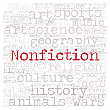 Nonfiction Library Sign