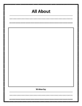 Nonfiction Lined Writing Paper