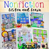 Nonfiction Listen and Learn Bundle 1