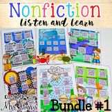 Nonfiction Listen and Learn Bundle 1