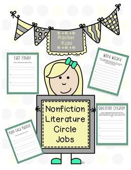 Nonfiction Literature Circle Jobs