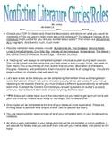 Nonfiction Literature Circle Roles
