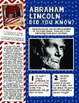Nonfiction Magazines and More! Washington and Lincoln